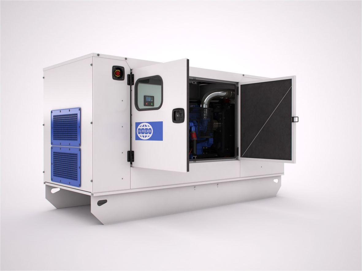 CAL / CALG Modular Acoustic Enclosure 30 – 220 kVA Range Image
